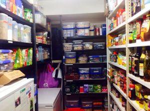 Lyndal's 'Armageddon' pantry